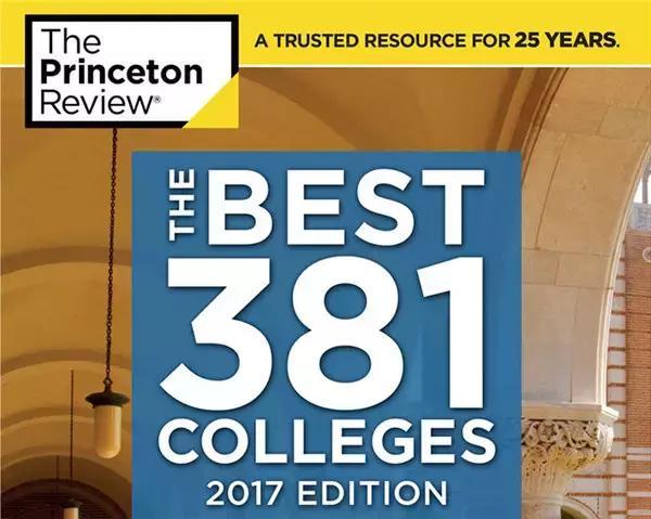 2017最新美国大学排名