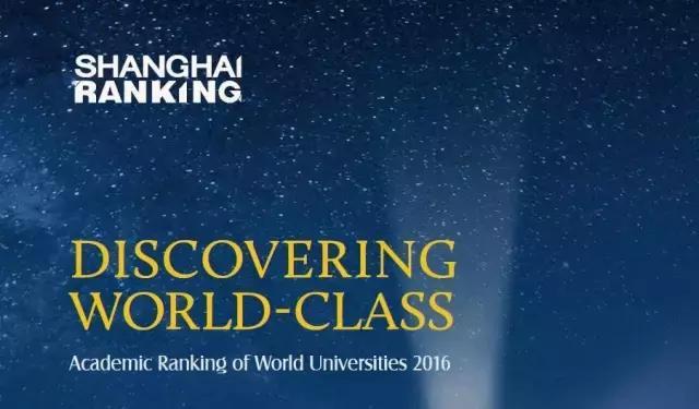 世界大学学术排名
