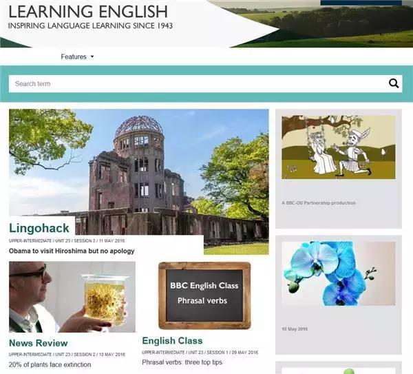 提高英文的国外网站
