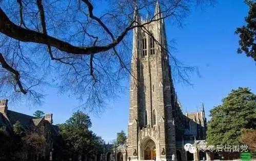 美国杜克大学怎么样