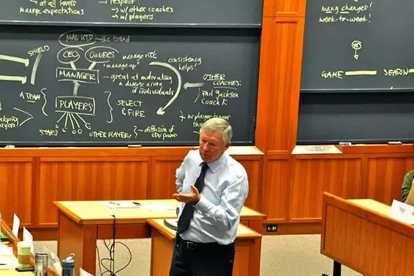 哈佛大学商学院采访