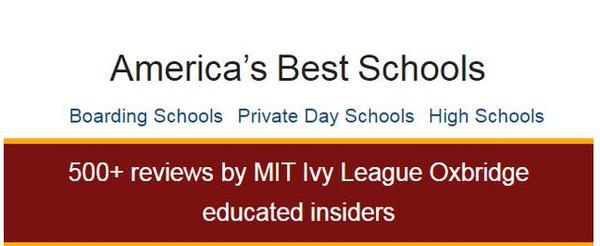 美国高中排名